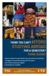 UTB/TSC Study Abroad program flyer by lluviamaya