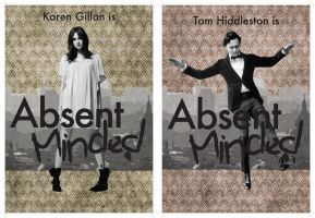 Absent Minded - postcard designs by TeaForOne