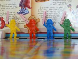 Candyland Pieces by Meow-Stock