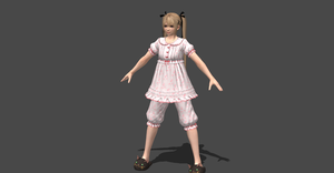 MARIE ROSE PAJAMA OUTFIT by OoFiLoO