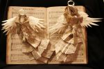 Chorus of Angels Book Alteration by wetcanvas