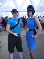Otakon 09: Scout and Mom by Rose-Vicious