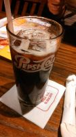 Mug Root Beer in Pepsi-Cola Glass by BigMac1212