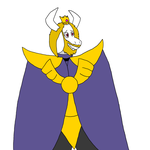 Asgore by GiygasBandicoot
