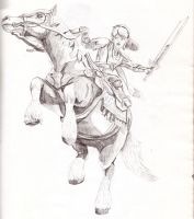 Link and Epona by MisteremeM
