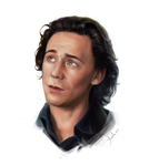 Tom Hiddleston by AnnikeAndrews