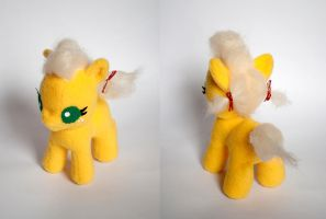 Baby Applejack Plush: Final Version by ivy-cinder