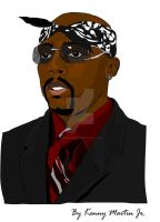 Nate Dogg - RIP by celebcartoon