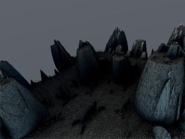 Dark Peaks -Pong115 by Undead-Academy