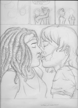 WIP Love in Dire Places by peas23
