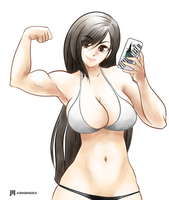 Commission Tifa by KawaINDEX
