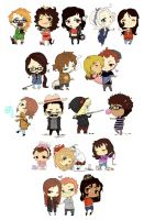 Chibi Compilation by e-hima