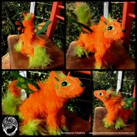 Custom Poseable Creature - Commission by SonsationalCreations