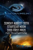 Halo 3 Tournament poster by GooMoo