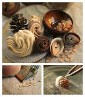 Making Miniature Almond Cones by MrsCreosote