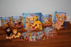 Walmart Lion King items by girlpet5