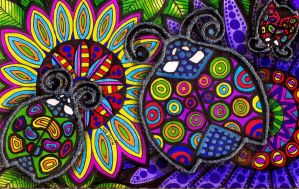 Colors of the Ladybugs by HGCreations