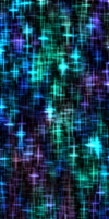 Aqua/Purple Crosses [Custom Box Background] by darkdissolution