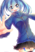 Ene - Mekakucity Actors Speed Paint by LemonPoppySeedMuffin