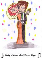 Thomarie Wedding by percyluver98