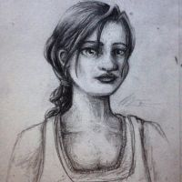 Pencil: Chell by Mephikal