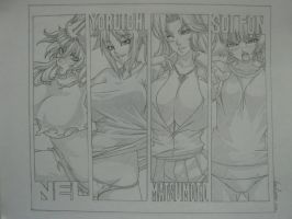 Bleach Girls by allaboutnothing
