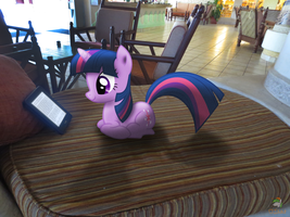 Reading On Vacation by OJhat