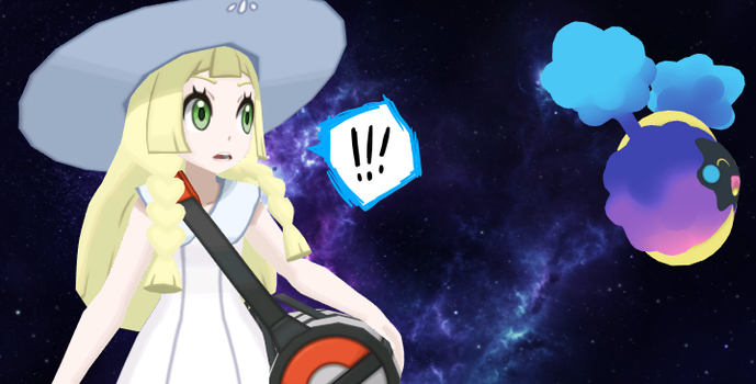 - Lillie and Nebby - by DesolateMars