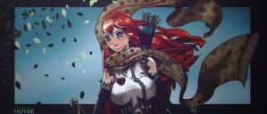 Red Haired Lass II by huybecan