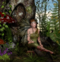 Lonely Fae by CaperGirl42