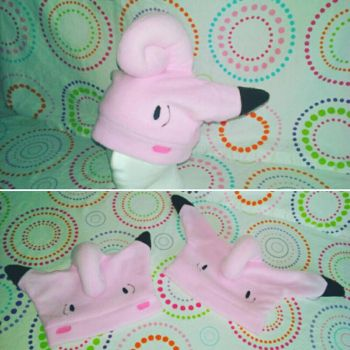 Clefairy and Clefable by Sew-it-all