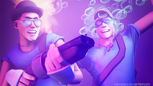 Team Fortress 2 (TF2) - Scouts by ViewSEPS