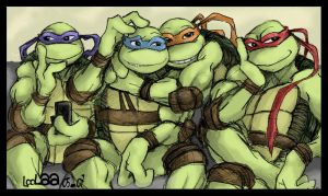 TMNT: Say Cheese by loolaa