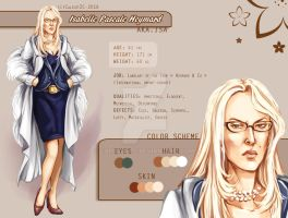 The Gate PROJECT ~ Isabelle Character Sheet by Calicot-ZC