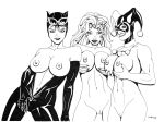 Catwoman Ivy Harley Peek a Boo by ESO2001