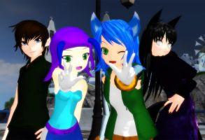 [ACDD MMD] In a Happier Time... by TheKitsuneAlchemist