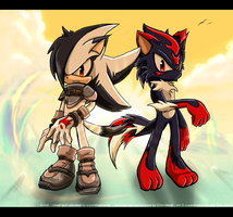 :: Collab - The Night Is Gone by Chibi-Nuffie
