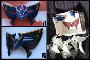 Fire Emblem Awakening: Marth Mask by lisu-c