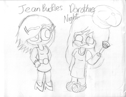 NEW OCs: Jean and Dorothie by KidsAndKittehs