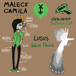 Maleck Camila (Fantroll Ref) Be the Gay Troll by F0XEH