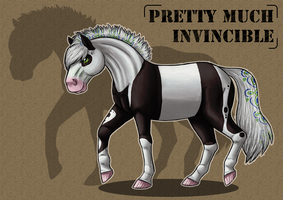 -SS- Pretty Much Invincible by JiiBee