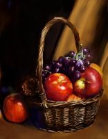 Fruit basket by PhantomHeart