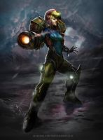 Metroid by danielmchavez