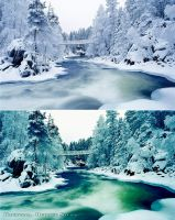 Stylizing Before and After Lanscape by Krisu00r34