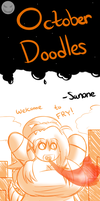 October Doodles #3 by TheEnglishGent