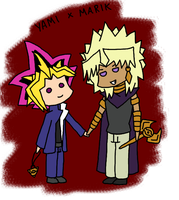 YGO - Clashshipping Collab by caramelcatkin