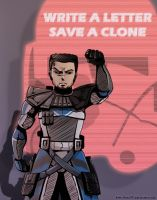 Write A Letter Save A Clone by rayn44