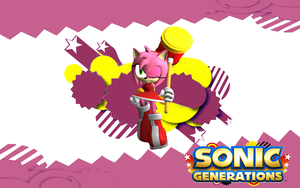Sonic Generations-Amy by NIBROCrock