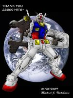 RX-78-02 Mobile Suit Gundam by AniMacGyver