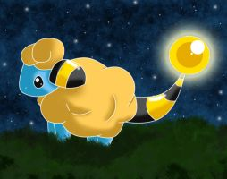.:Mareep The Starry Sky:. by Volmise